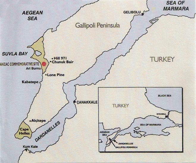 1915 Gallipoli